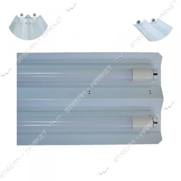 VESTA Светильник (метал основание ) под 1 линейную LED лампу длинна 645мм G13 W-645 белый