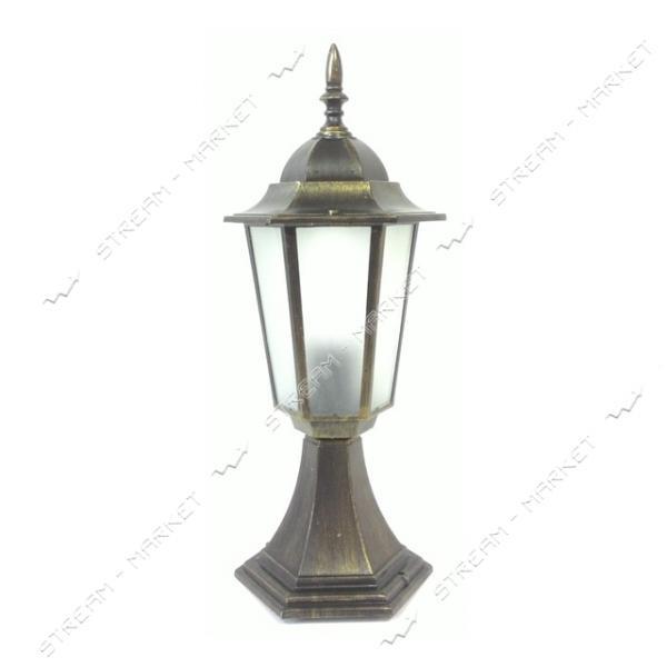 Светильник парковый Synergy НТУ 06 60 Вт E27 IP44 матовое стекло, цвет корпуса медь