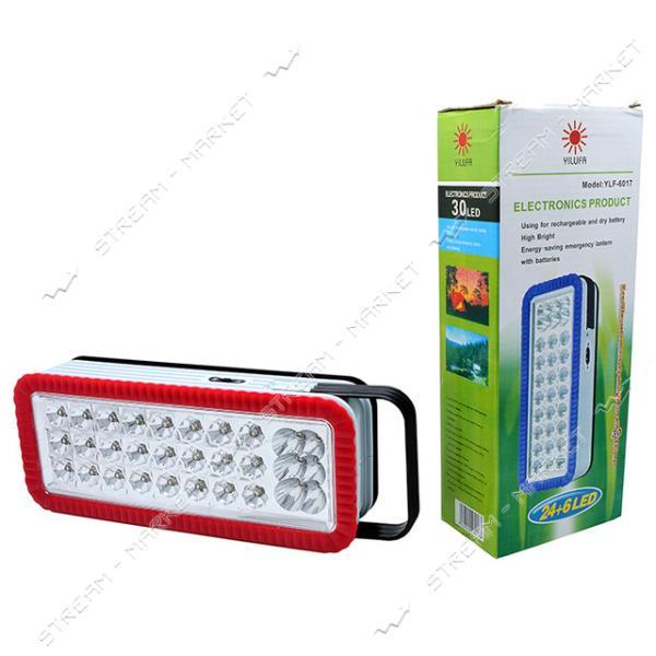 Светодиодная панель YLF-6017 24 6 LED аккумул.