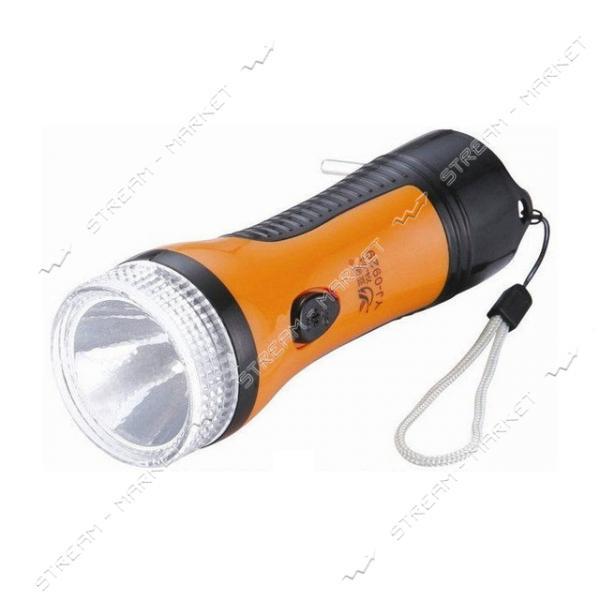 Фонарь ручной светодиодный YJ-0929 1LED аккумуляторный