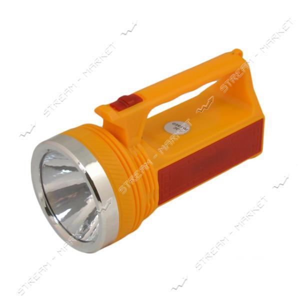 Фонарь ручной светодиодный YJ-2882 1LED 8SMD аккумуляторный