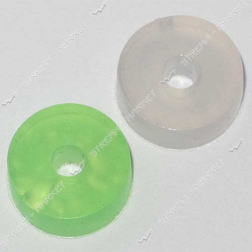 Прокладка 'таблетка' импортная силикон (15мм*4мм*4, 5мм) ( кратно 100 шт.)