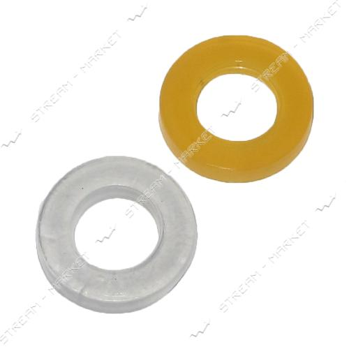 Прокладка силикон утолщенная 1/2' (19мм*10мм*2, 5мм) ( кратно 100 шт.)