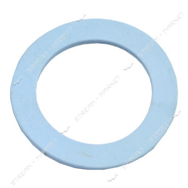 Прокладка 'сифон' резина белая (60мм*40мм*2, 5мм)