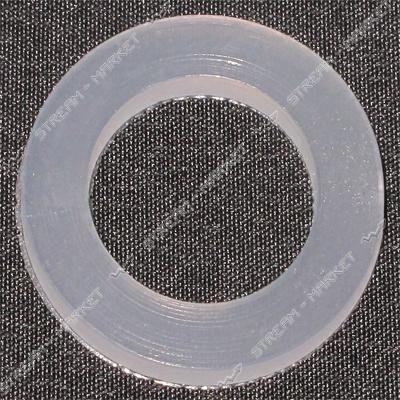 Прокладка силикон 'стиральная машина' (24мм*15мм*2, 5мм) ( кратно 100 шт.)
