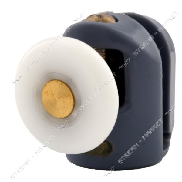 ANGO (8002 up) Ролик для душевых кабин одинарный, поворотный, пластик d=26мм (А-43в)