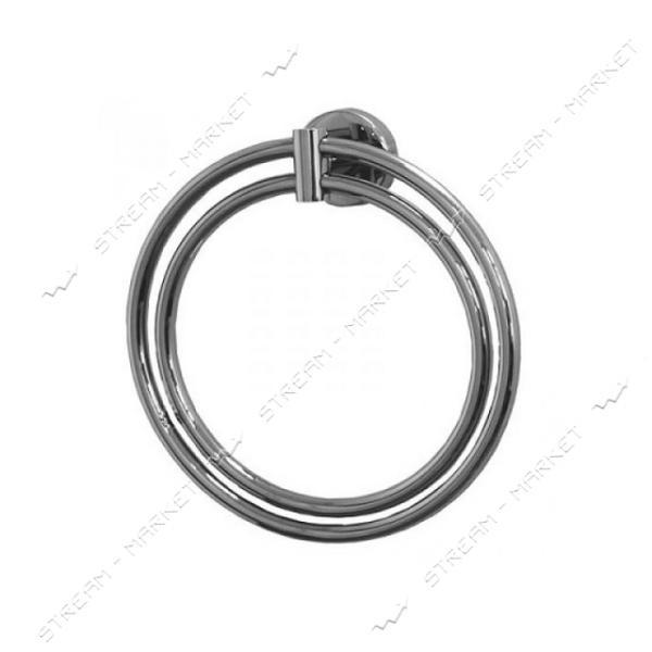 Полотенцедержатель кольцо двойное (F-010)