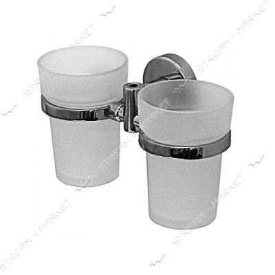 Стакан двойной для ванной комнаты (F-039) (стекло)