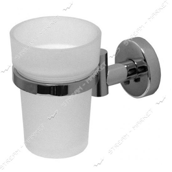 Стакан одинарный для ванной комнаты ( F-044 ) (стекло)
