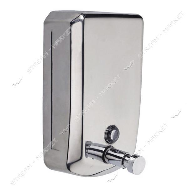 Дозатор для мыла (хром одинарный 700мл) (ТМ802 )