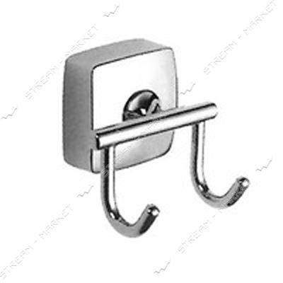 Вешалка для ванной комнаты крючок 2-й К-025-2