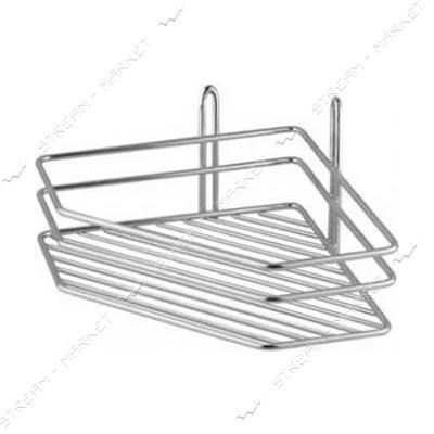 Полка угловая одинарная (металл) (А-125)