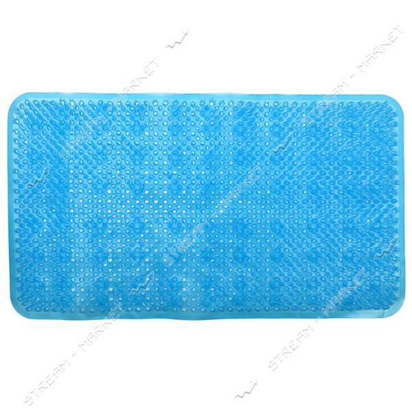 Коврик для ванны силиконовый Травка 40х54см
