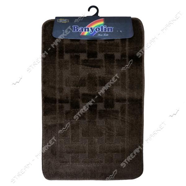 Набор ковриков в ванную под унитаз ECONOMI 55х90см