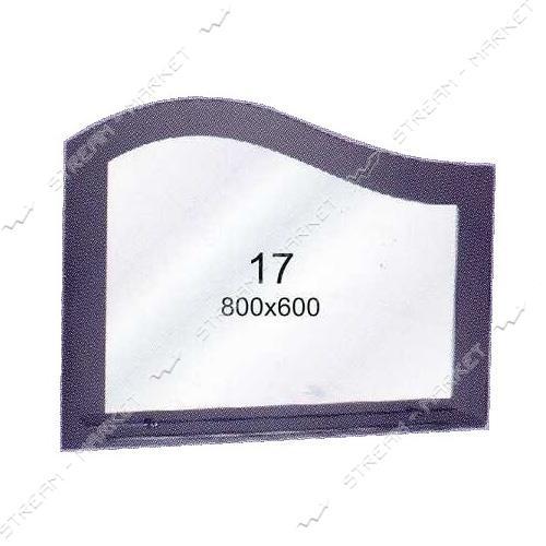 Двойное зеркало (ф-17) (800*600мм, 1 полка)