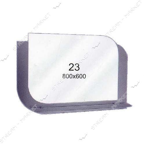 Двойное зеркало (ф-23) (800*600мм, 1 полка)
