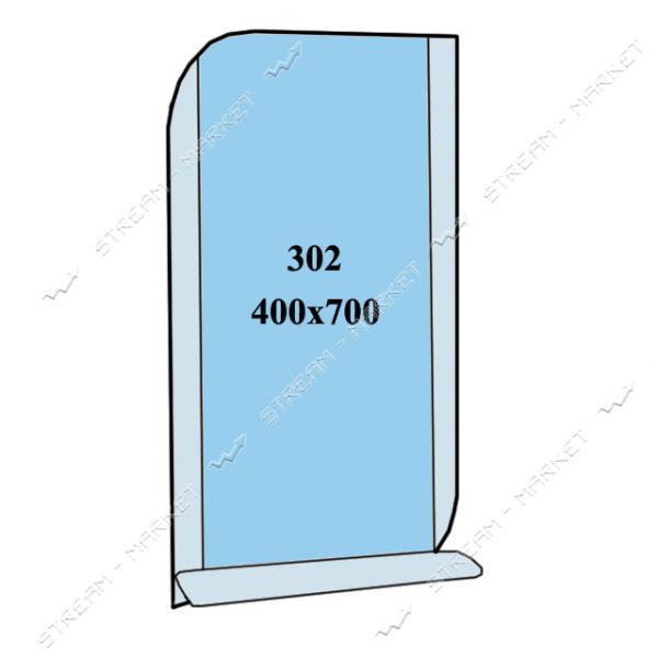 Зеркало пескоструйка (400*700 1 полка) (302)