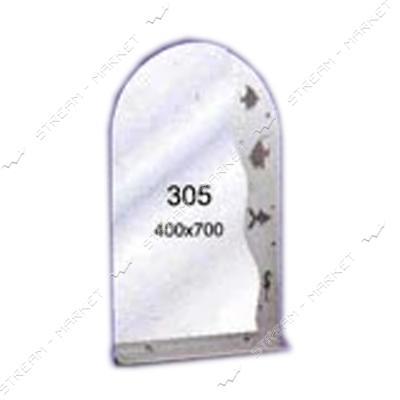 Зеркало пескоструйка (400*700 1 полка) (305)