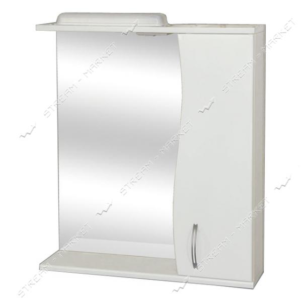Зеркало правое белое 600мм