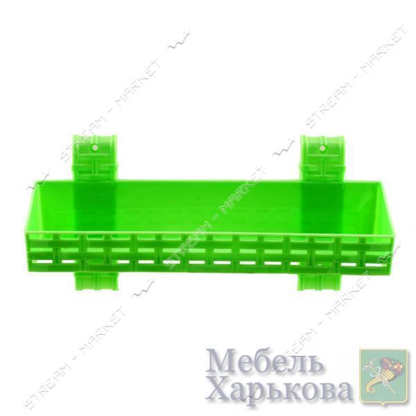 Полка одноярусная прямая для ванной комнаты ротанг цвета в ассорт. - Полки и этажерки для ванных комнат в Харькове