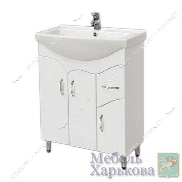 Тумба для ванной комнаты белая Изео 60/1 умывальник Изео 60 - Тумбы под раковину в Харькове