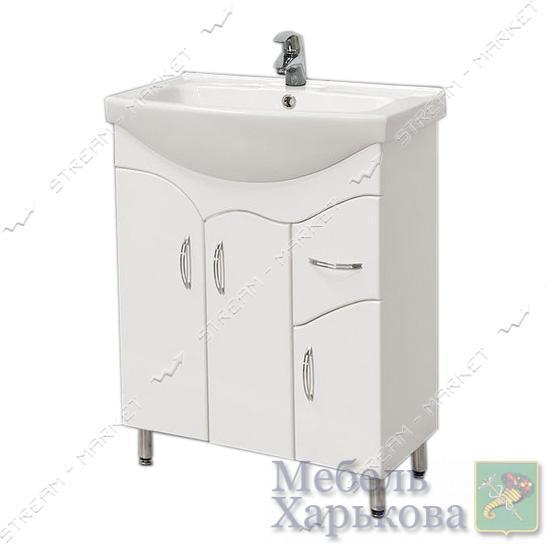Тумба для ванной комнаты белая Изео 65/1 умывальник Изео 65 - Тумбы под раковину в Харькове