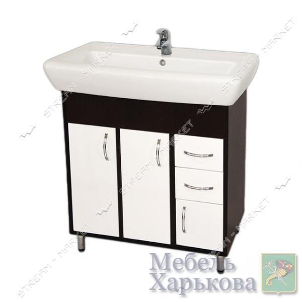 Тумба для ванной комнаты венги Ирида Венги 70/2 умывальник Ирида 70 - Тумбы под раковину в Харькове