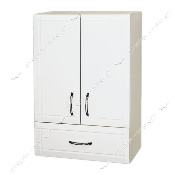 Шкаф для ванной комнаты белый навесной 50 Нота