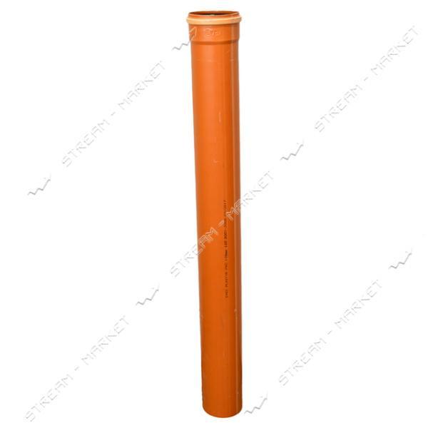 Канализ. наружная труба 160х1м SN4 (тяжелый тип) (3, 2мм)