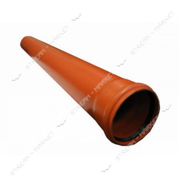МПласт Канализ. наружная труба 160х4м SN2 (3, 2мм) (ПОД ЗАКАЗ)
