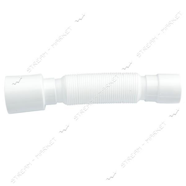 SoloPlast Г-0454 Гибкая труба без гайки 40/50 L=450