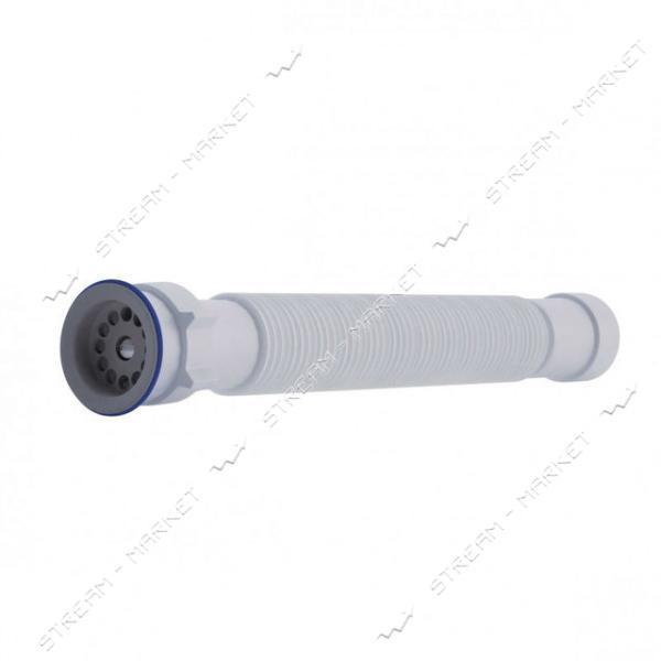 Сифон гофрированный АниПласт G116 с нержавеющим выпуском 1 1/2'х40/50