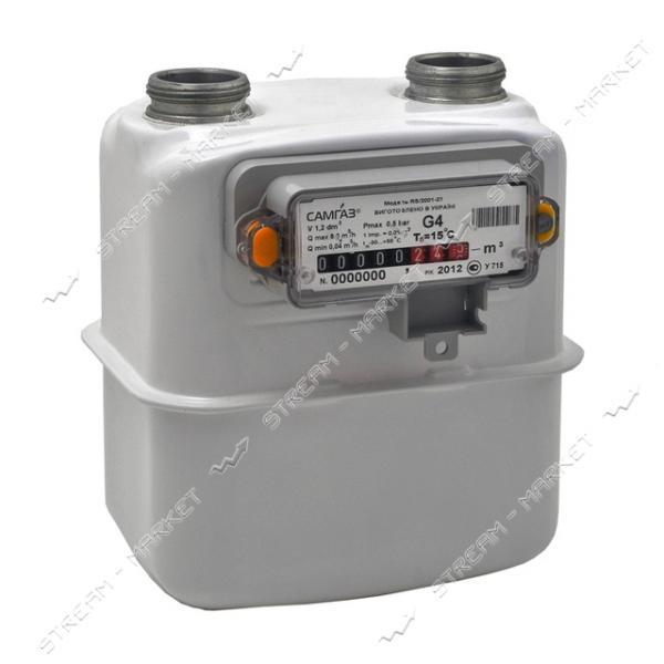 Газовый счетчик САМГАЗ мембранный G4 RS/2001-2P d20
