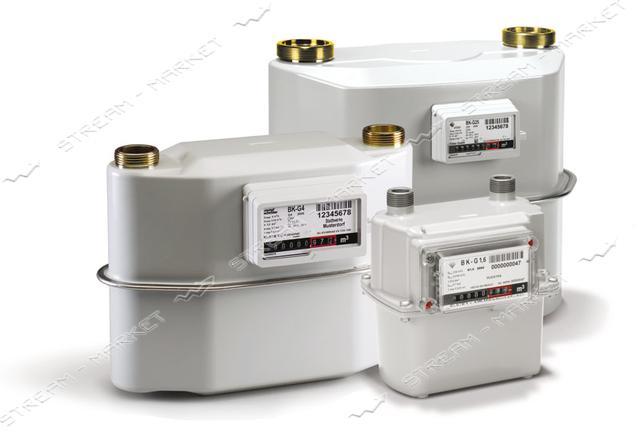 Газовый счетчик ELSTER мембранный ВК G2.5T d32 с температурной компенсацией