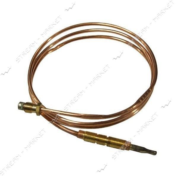 Термопара для духовки/гриля газовых плит Ariston/Indesit L=1200мм М8 (с резьбой)