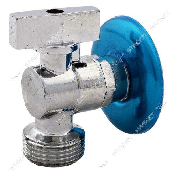 Кран для подключения стиральной машины GROSS GR-401 1/2Нх3/4Н