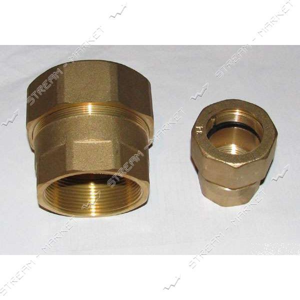 Врезка в трубу латунная 1 1/2'Вх49мм тип GEBO