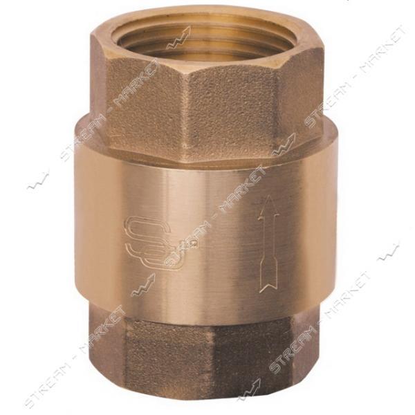 Обратный клапан для воды 1/2' SD FORTE Евро латунный шток