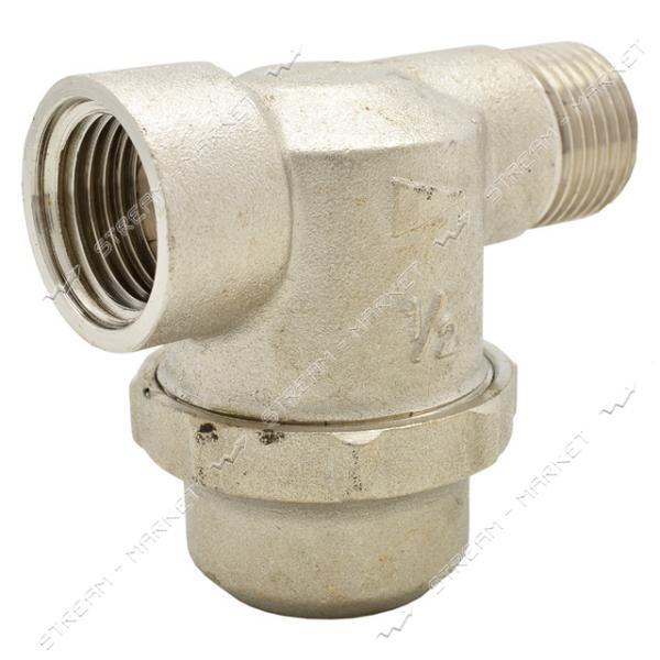 Фильтр грубой очистки воды 1/2'Вх1/2'Н с отстойником