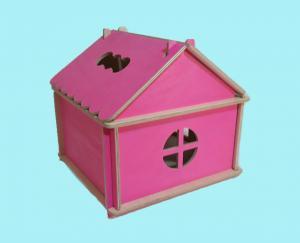 Фото  Кукольный домик цветной