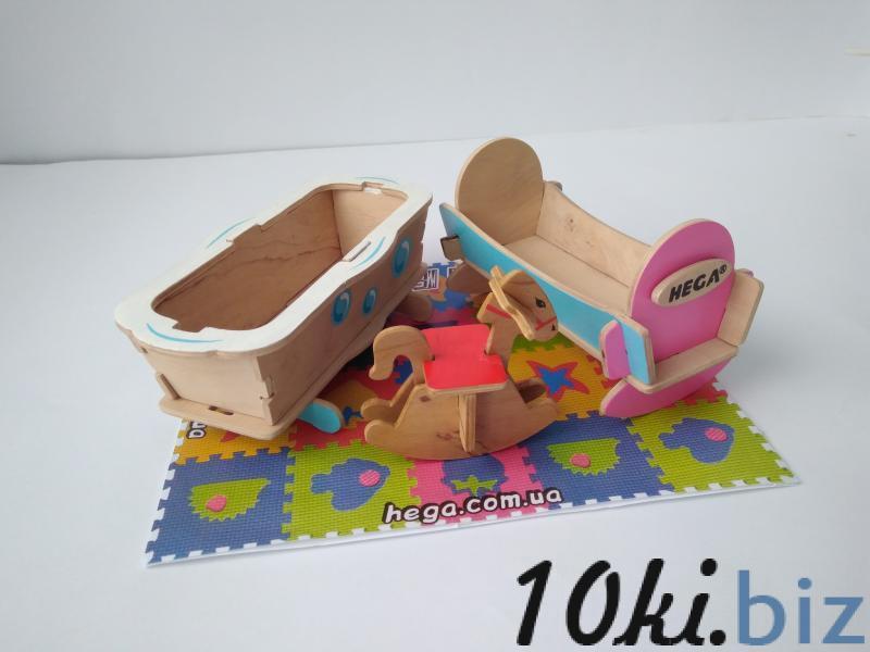 """Набор мебели """"Детская"""" Игрушечная мебель, мебель для кукол в Украине"""