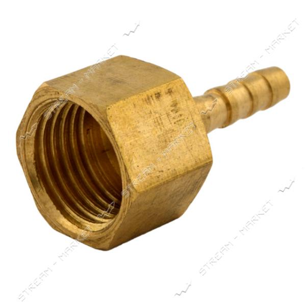 Фитинг латунный Штуцер 4-1/4В (диаметр 4мм)