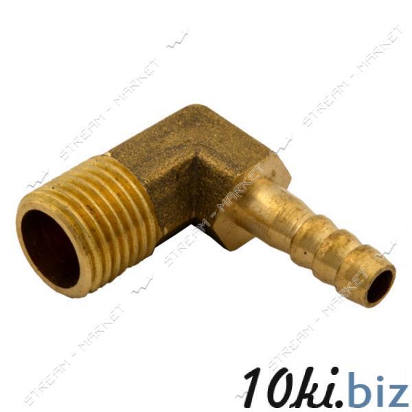Фитинг латунный Штуцер угловой 6-1/4Н (диаметр 6мм) Штуцеры для труб на Электронном рынке Украины