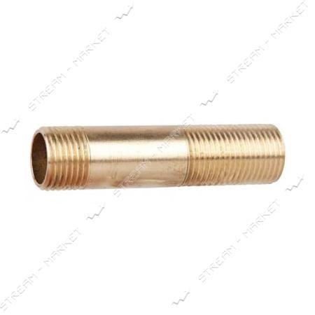 Сгон латунный 3/4'х80мм N0762.02