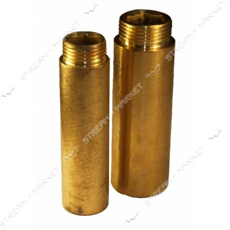 Удлинитель латунный 1/2'х80мм N0790.6