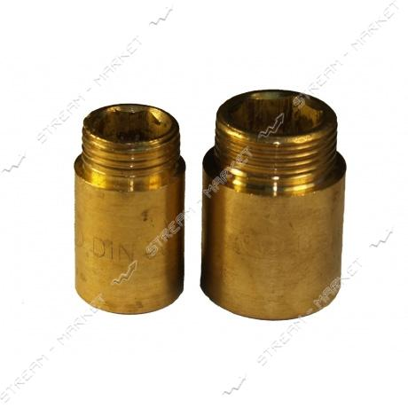 Удлинитель латунный 3/4'х30мм N0790.д