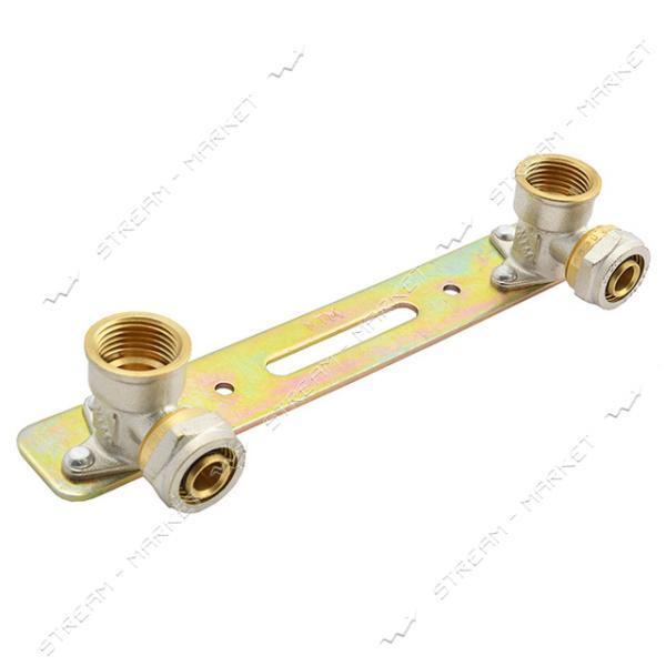 Планка монтажная для металлопластиковых труб 20х1/2'В
