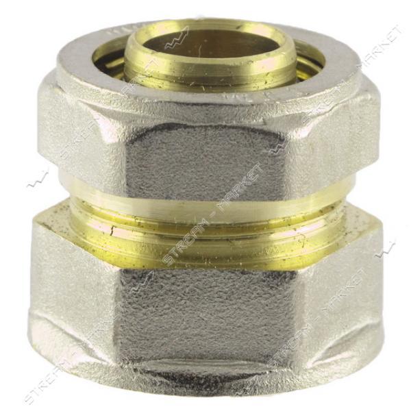 Муфта для металлопластиковых труб 16х1/2'В