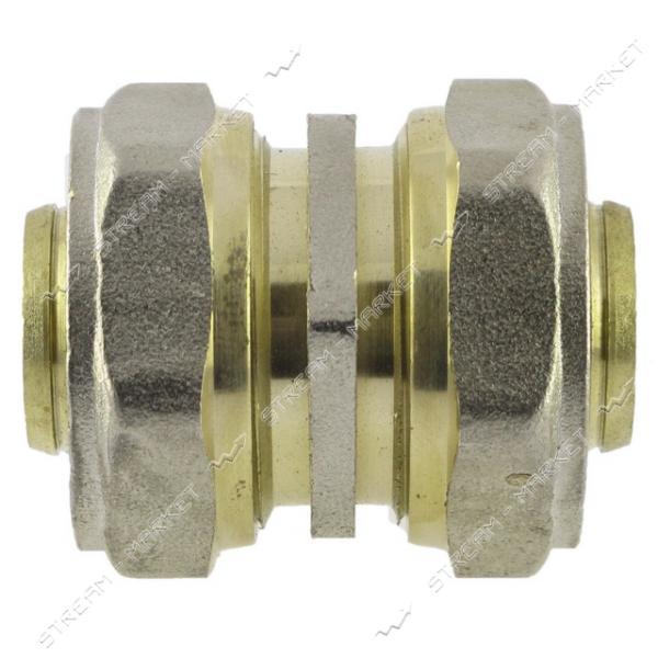 Муфта для металлопластиковых труб 16х16