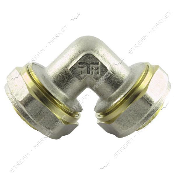 Угол для металлопластиковых труб 20х20